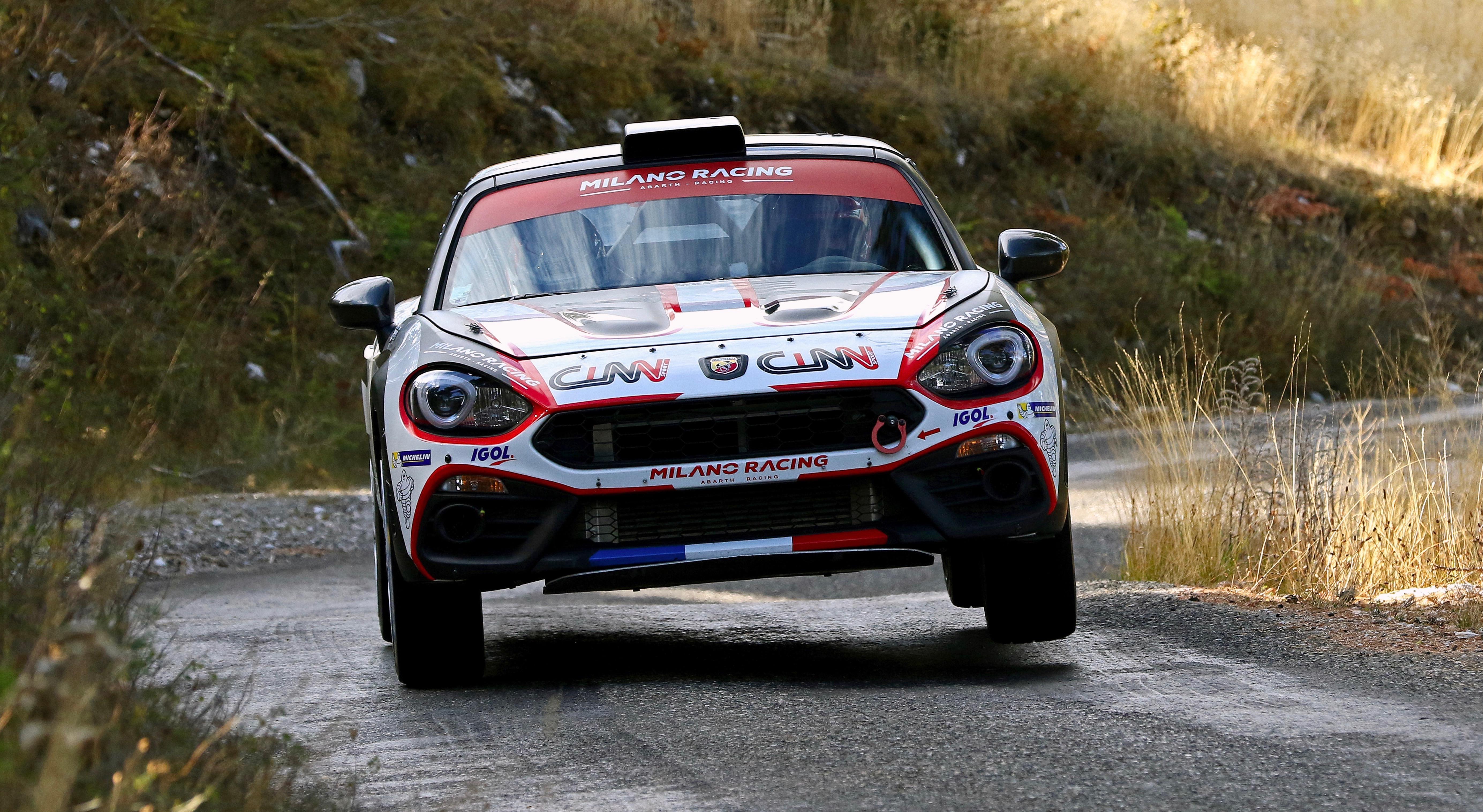 L'Abarth 124 Rally