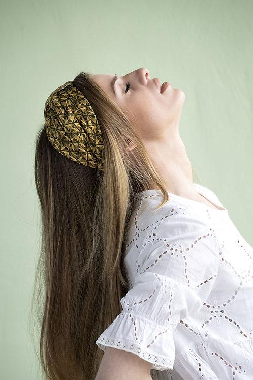 SAONA - serre tête turban - coloris au choix