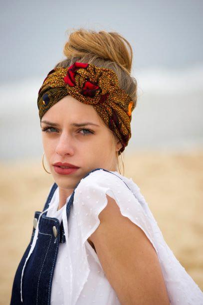 SEMAPHORE  - version turban - motifs aux choix