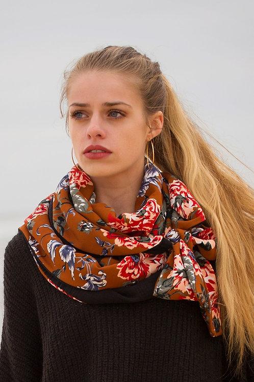 ECUME - foulard rétro - motifs au choix