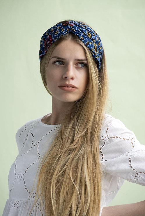 IROISE - serre tête turban - coloris au choix