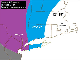 Updated Snow Forecast