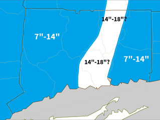 A Closer Look At Today's Snow Totals