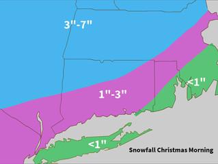 Christmas Snow Update