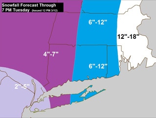 Nor'easter 3. How Much?