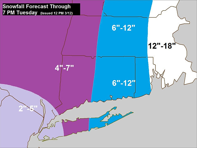 Nor'easter 3  How Much? | coxweatherservices