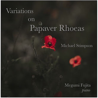 Variations on Papaver Rhoeas Cover copy_