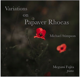 Variations on Papaver Rhoeas Cover copy.