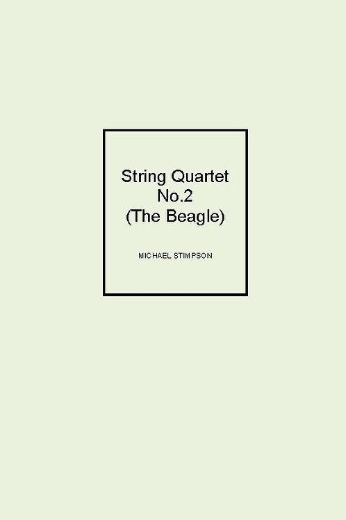String Quartet No.2 (The Beagle) - SCORE & PARTS