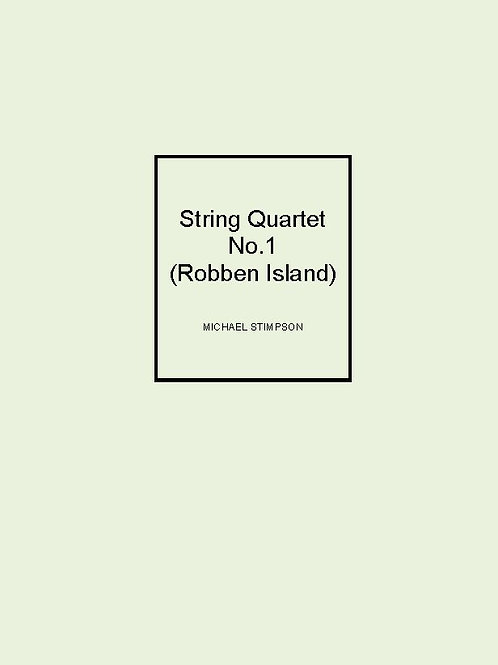 String Quartet No.1 (Robben Island) - SCORE AND PARTS