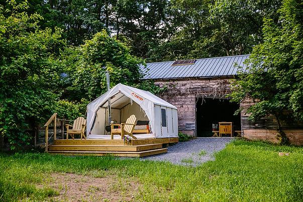Tentrr Fido's Vineyard Site at The Game Farm