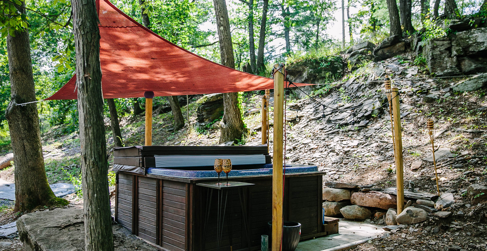 Hot Tub in the Catskills