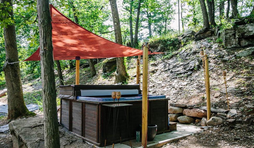 Hot Tub in the Catskills