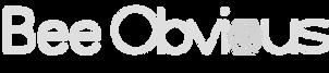 Bee Obvious Logo