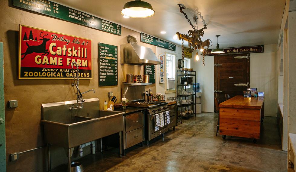 Kitchen Common Area - The Long Neck Inn