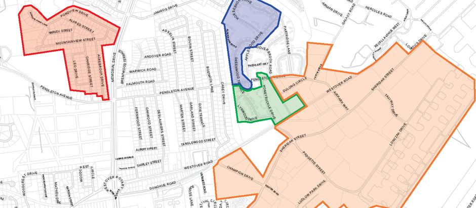 Crossroads Fiber Pilot Area Map