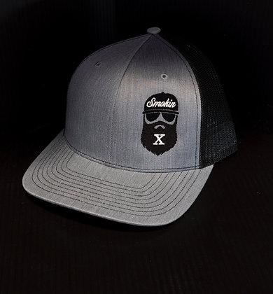 Black Bearded X Trucker Hat