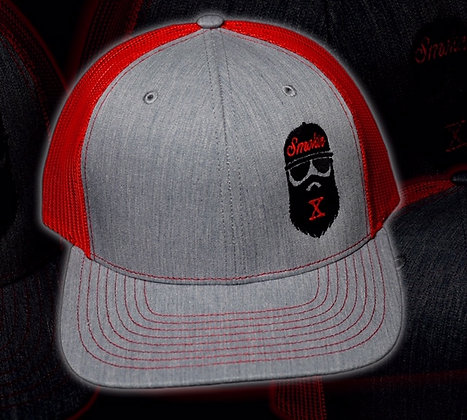 Red Bearded X Trucker Hat