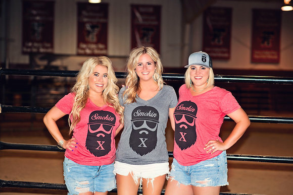 Smokin X Ladies V-neck T-shirt