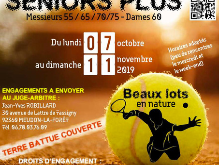 TOURNOI SENIORS PLUS