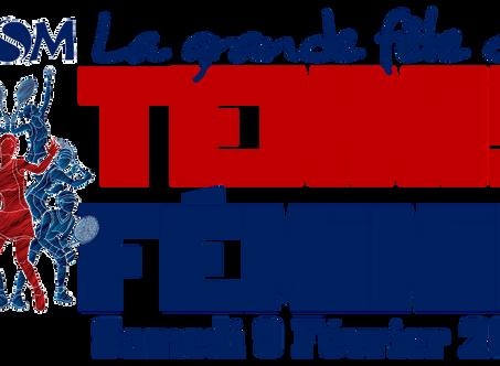 ENFIN TOUTES LES PHOTOS DE LA GRANDE FETE DU TENNIS FEMININ du 9 février 2019!!