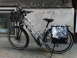 Fahrrad mit Wunschdesing