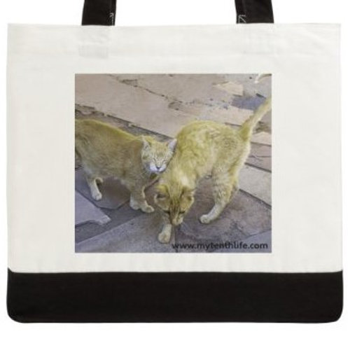 A Warm Embrace Cotton Canvas Tote Bag
