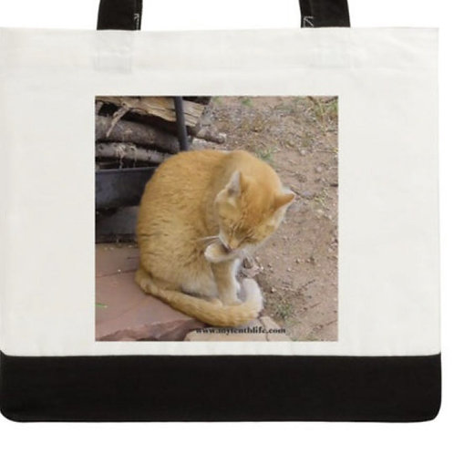 Bathtime Cotton Canvas Tote Large