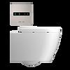 IPEE T3 Plus slim toilet pack met dikke zitting, rvs