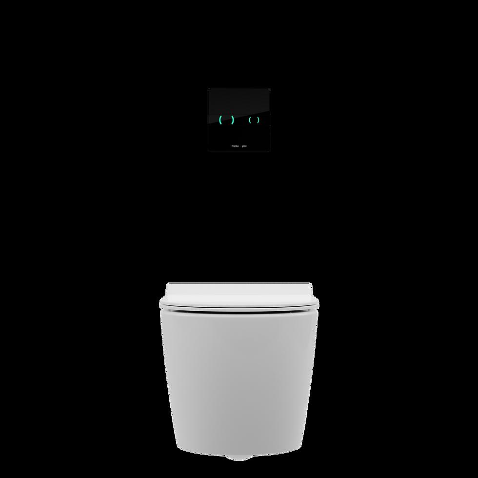 IPEE T5 slim toilet vooraanzicht