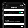 WISA x IPEE app op smartphone