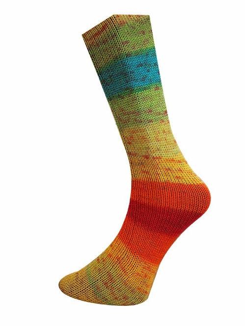 Lungauer Sockenwolle mit Seide   Ferner
