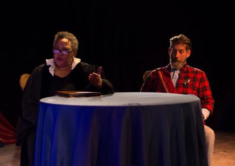 Jackie Welch Schlicher, Garris Wimmer  Lights by William Kyle Odum Costumes by Lauren Lowell Scenic by David Brandon  Photo by Benjamin Borck