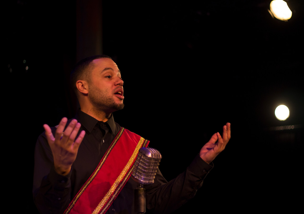 Patriq James  Lights by William Kyle Odum Costumes by Lauren Lowell Scenic by David Brandon  Photo by Benjamin Borck