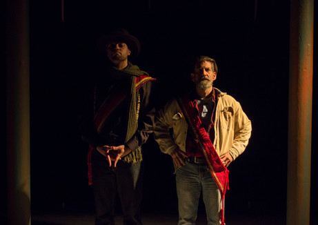 Patriq James, Garris Wimmer  Lights by William Kyle Odum Costumes by Lauren Lowell Scenic by David Brandon  Photo by Benjamin Borck