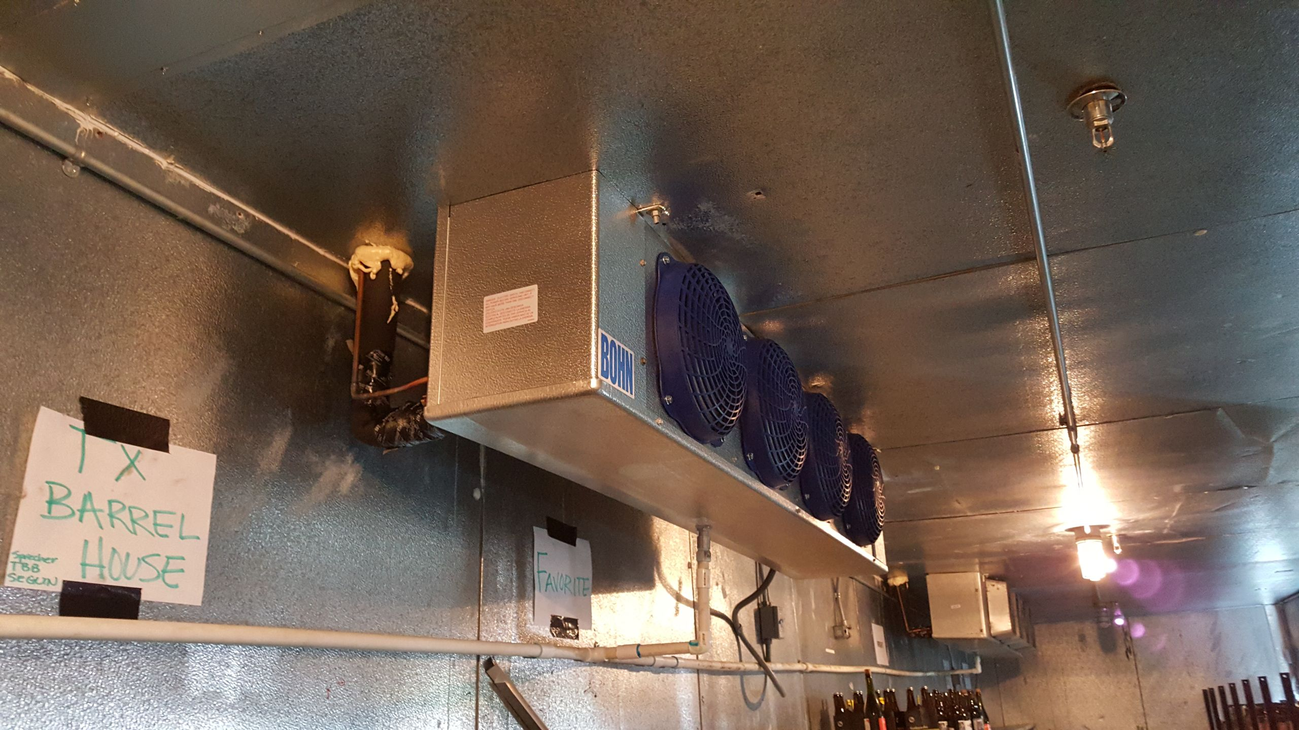 Commercial Refrigeration Install