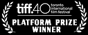 tiif 40 Platform prize winner HURT