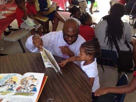 Dillard Park Daycare Feeding and Reading