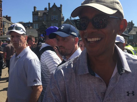 Barack Obama St Andrews