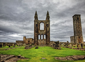 St Andrews Cathedral (G&A Taxis St Andrews)