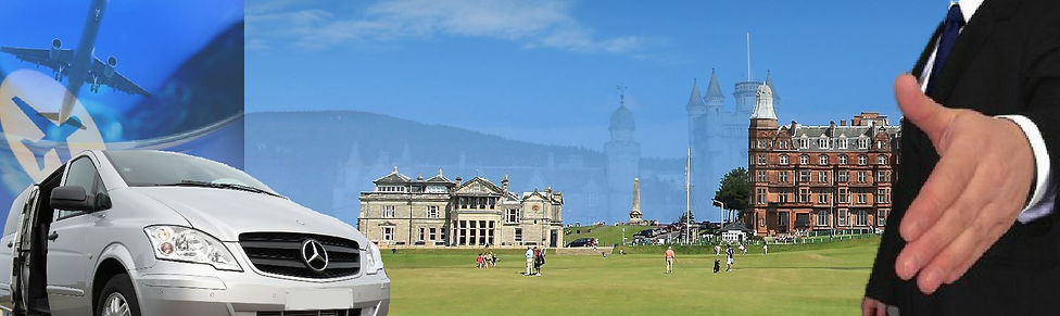 St Andrews Taxis providing Tours of Scotland, Golf Transfers, Airport Transfers