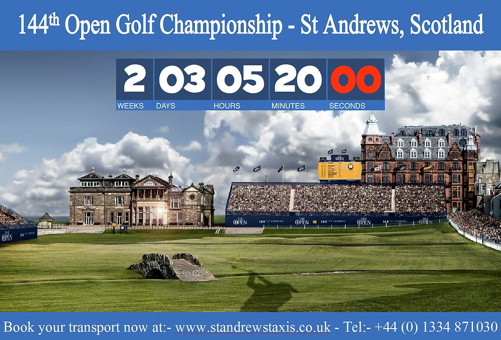 Open Golf Championship St Andrews