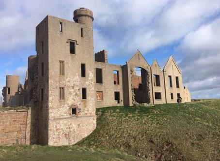 New Slains Castle Tour