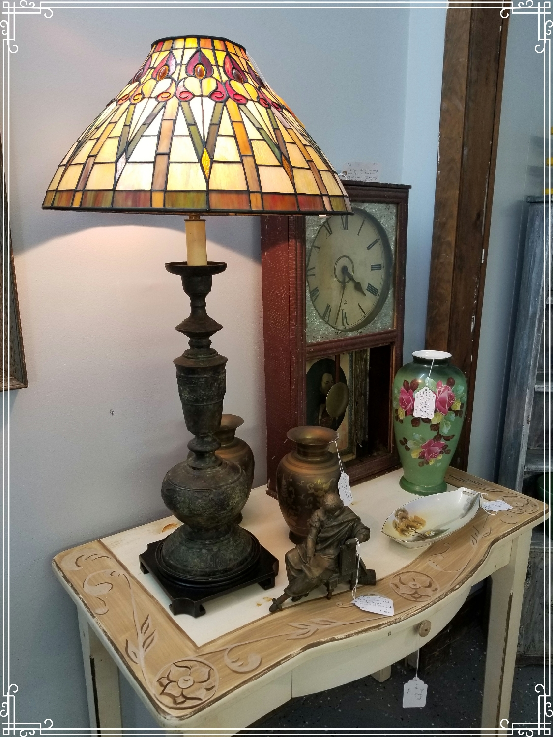 Tiffany Style Table Lamp A2