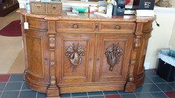 Wood Carved Buffet - Clinton Store