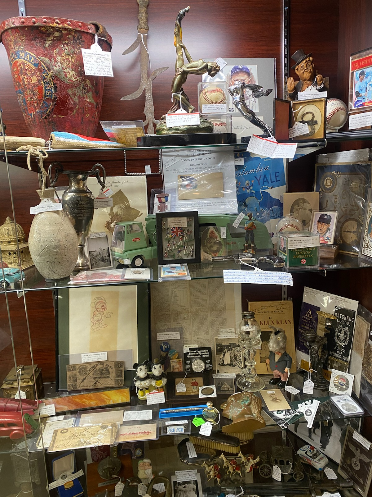 Display case O3 - East Haven Store
