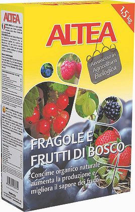 CONCIME FRAGOLE E FRUTTI DI BOSCO 1,5KG