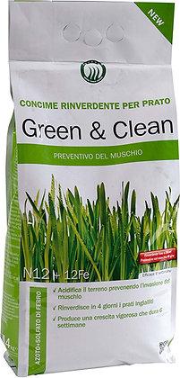 CONCIME GREEN&CLEAN PER PRATO 4KG
