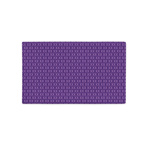 Lavendar Menace Premium Pillow Case (Purple / Black and White)