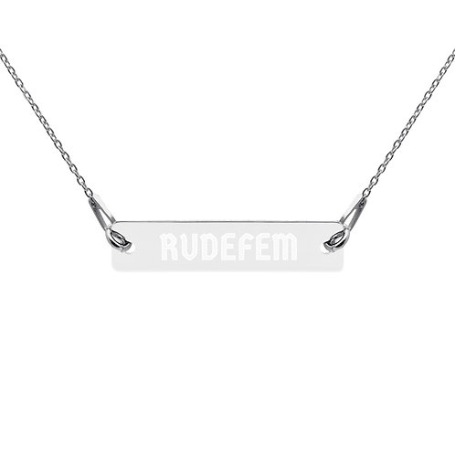 Rudefem Sterling Chain Necklace